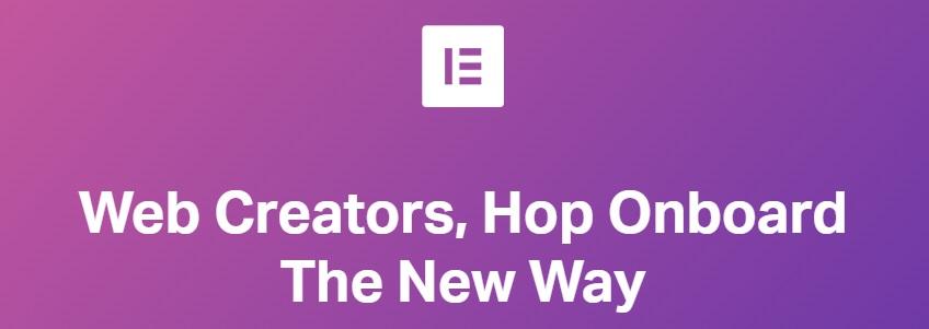 Elementor Page Builder es una Tecnología de Edición Visual Disponible en WordPress